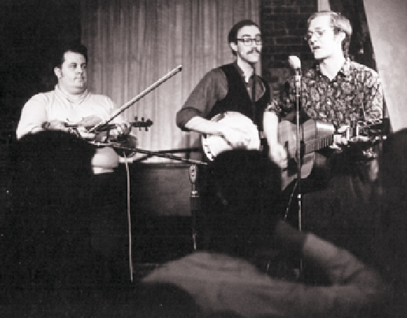 Performing with Martin Mull