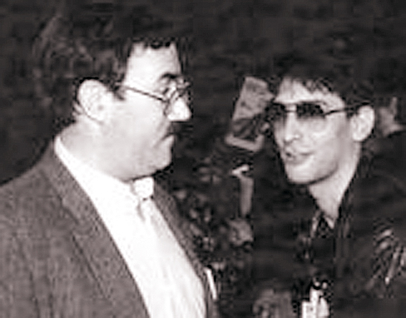 With Neil Gaiman